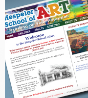 Hespeler School of Art Website Home Page